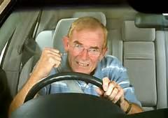 motorist honking horn