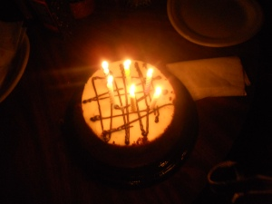 ron's birthday cake 2013