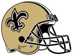 New Orleans Saints helmut