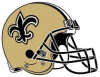 New Orleans Saints helmut
