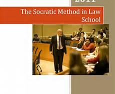 The Socratic Method in law school