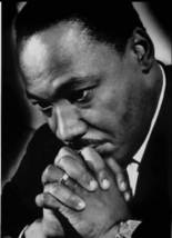 Dr. King praying