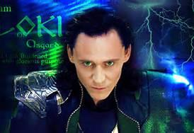 Loki staring