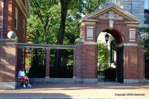 porcellian gate to harvard yard