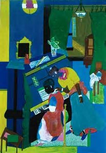 romare bearden piano lesson